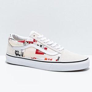 Rare! Vans Old Skool Packing Tape Shoes Women's